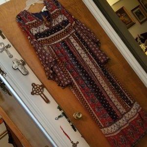 Hippie chic flying tomato maxi dress  Gorgeous